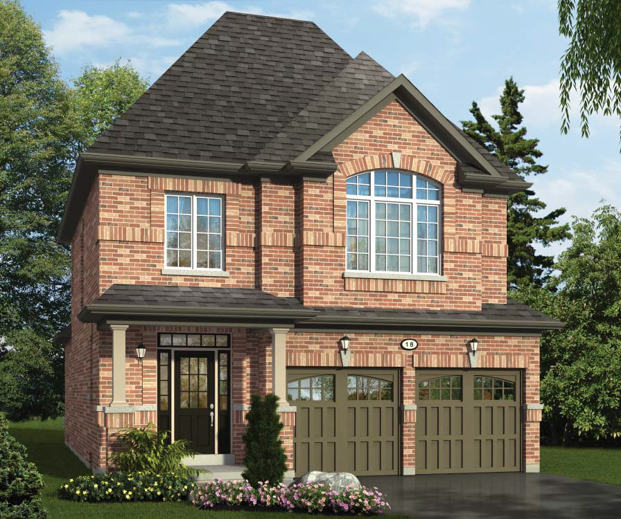 The Sibbald  -  Style A  /  1690 sq.ft.