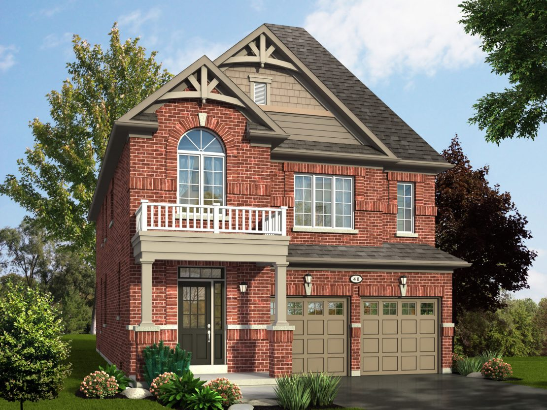 The Glenwood - Style A / 2575 sq.ft.