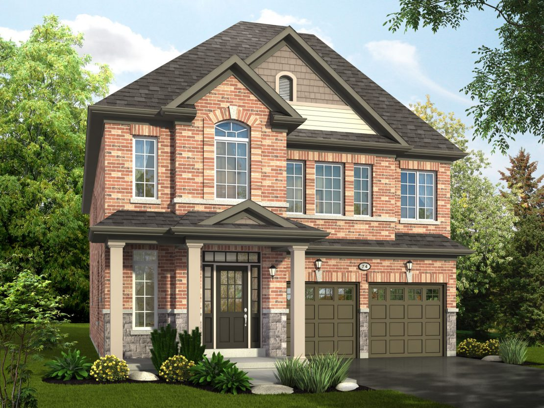 The Simcoe - Style A / 2985 sq.ft.