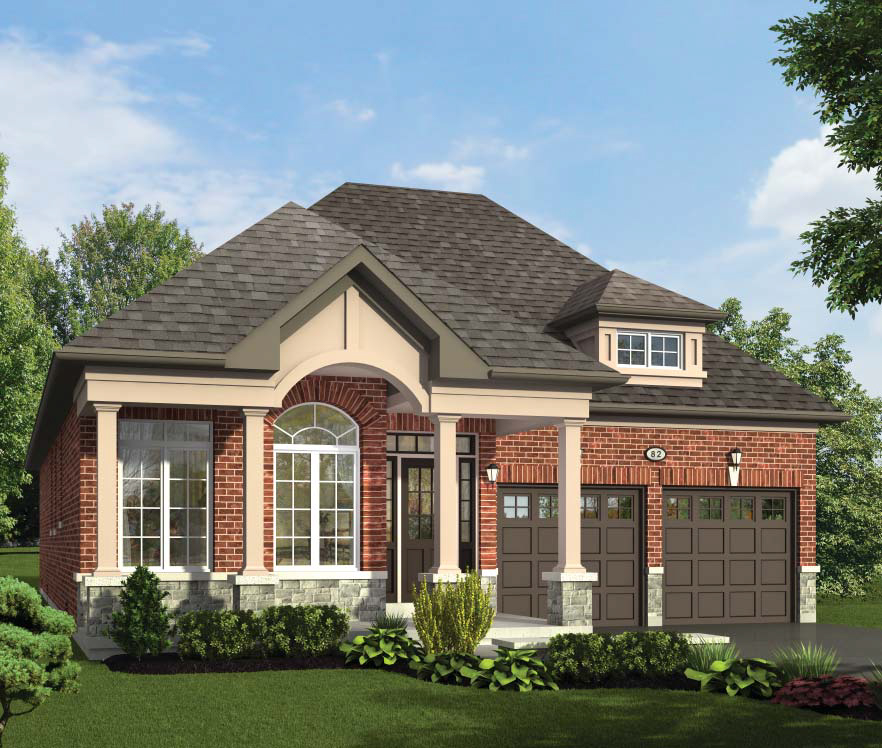 The Georgina  -  Style A  /  1560 sq.ft.