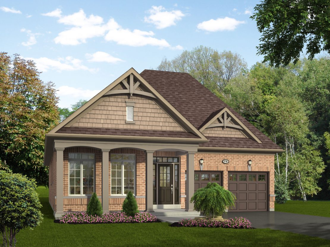 The Georgina  -  Style B  /  1560 sq.ft.