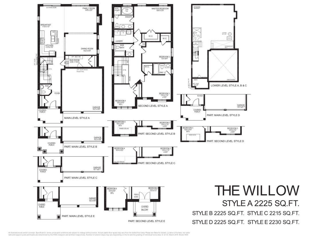The Willow - Floor Plan