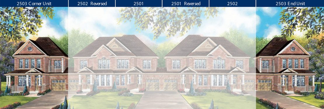 Townhome 2503 - Style A / 1734 sq.ft.
