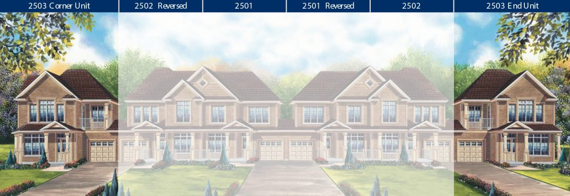 Townhome 2503 - Style B / 1734 sq.ft.