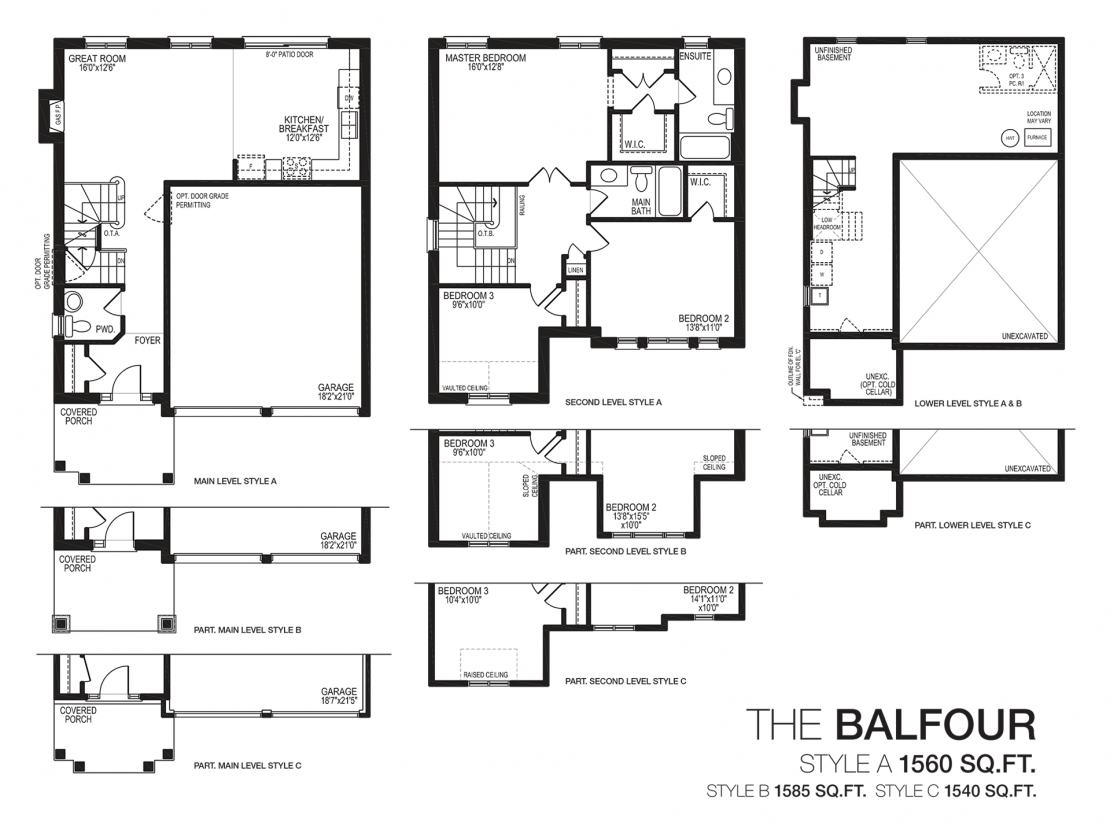 The Balfour  -  Floor Plan