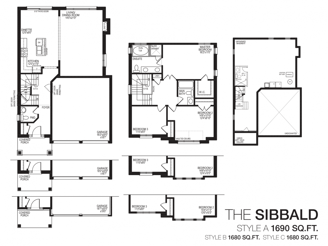 The Sibbald  -  Floor Plan