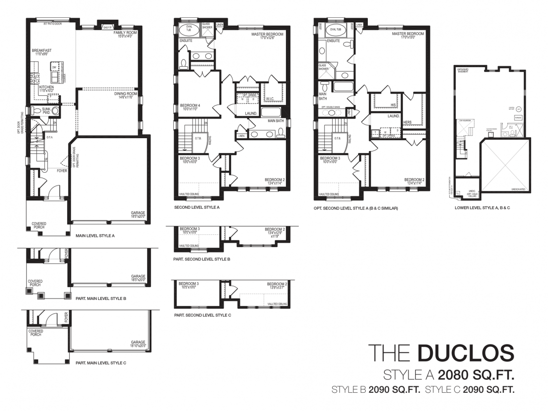 The Duclos  -  Floor Plan