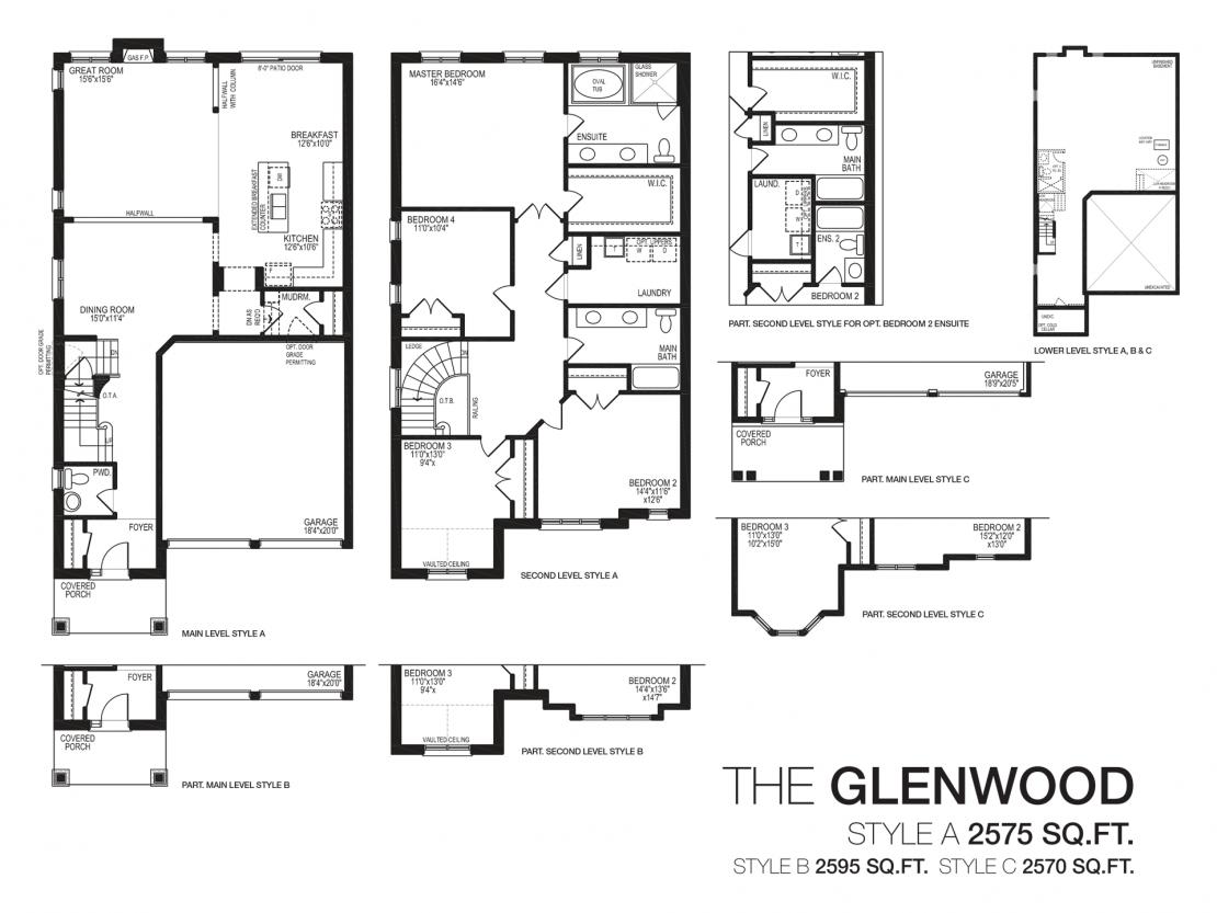 The Glenwood - Floor Plan