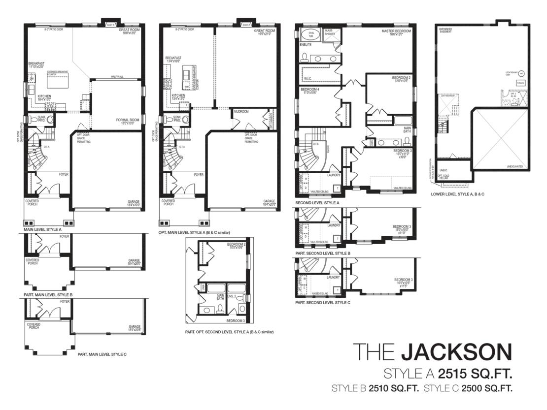 The Jackson - Floor Plan