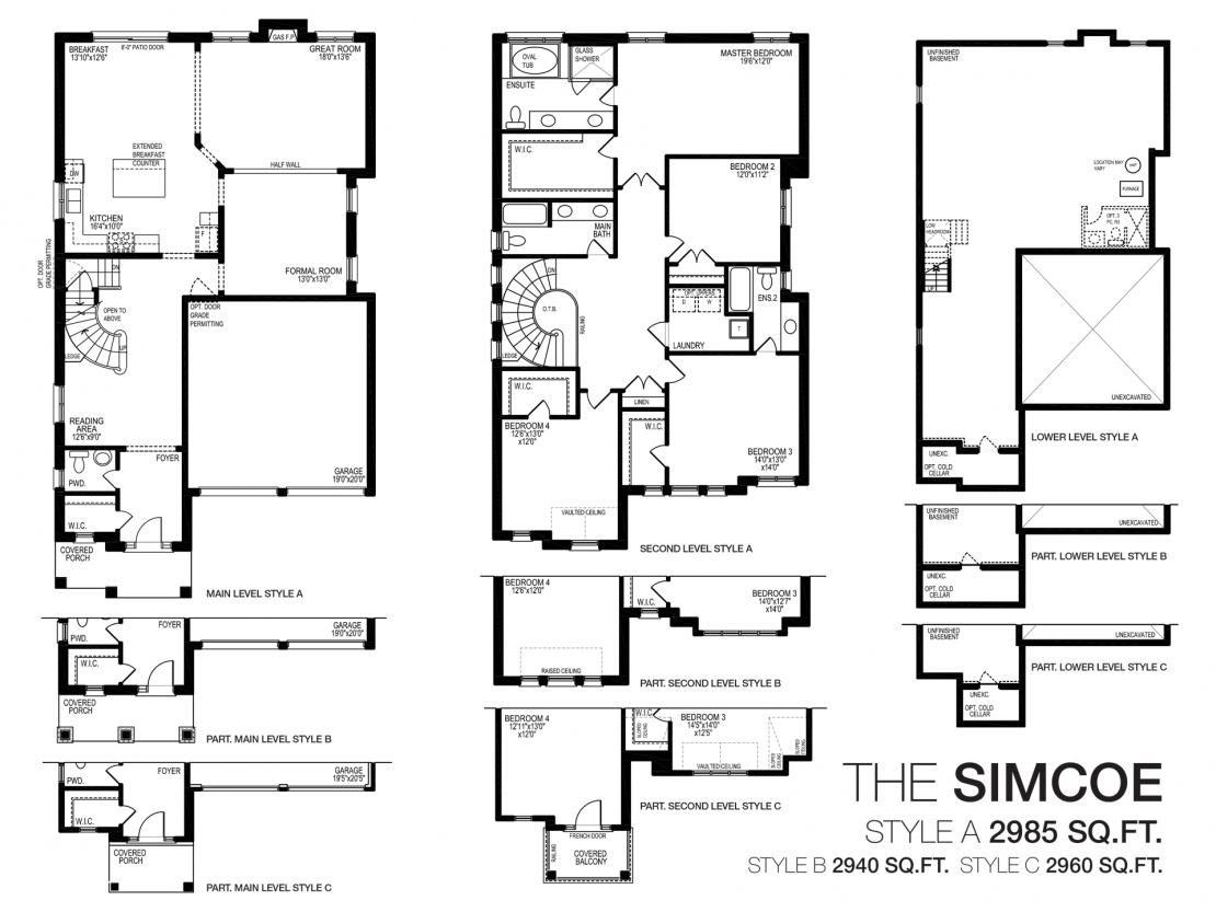The Simcoe - Floor Plan