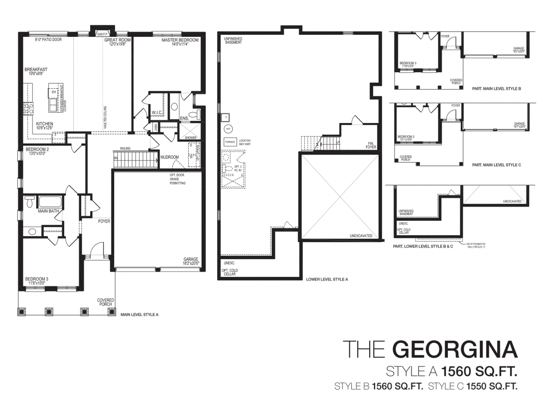The Georgina  -  Floor Plan
