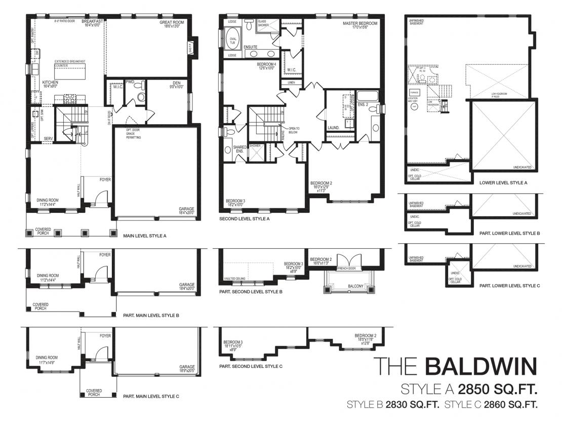 The Baldwin - Floor Plan